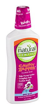 Natural Dentist Kids Cavity Zapper Fluoride Rinse