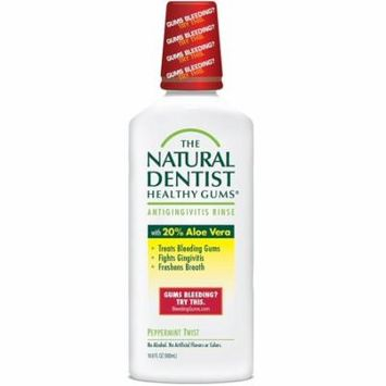 The Healthy Gums Antigingivitis Mouthwash to Prevent and Treat Bleeding Gums and Fight the Gum Disease Gingivitis - Peppermint Twist flavor, The.., By Natural Dentist