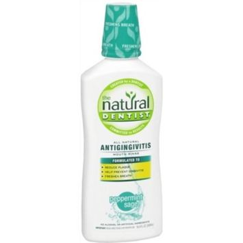 The Natural Dentist Healthy Gums Daily Oral Rinse, Peppermint Twist, 16.9-Ounces (Pack of 2)