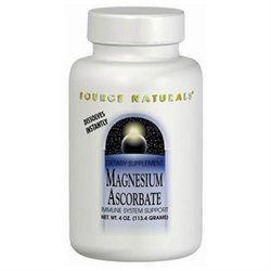Source Naturals Magnesium Ascorbate Crystals, 8 Ounce