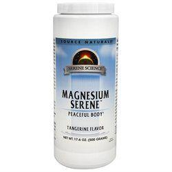 Source Naturals Magnesium Serene Powder - Tangerine