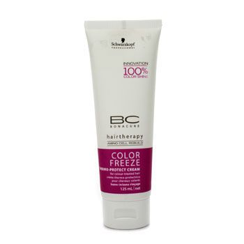 Schwarzkopf BC Color Freeze Thermo-Protect Cream (For Colour-Treated Hair) 125ml/4.2oz