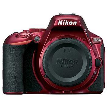 Nikon - D5500 Dslr Camera (body Only) - Red