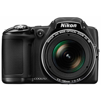 Nikon COOLPIX L830 Ultra Zoom Digital Camera with 16 Megapixels, 34x Optical Zoom with 4-136mm Lens (Available in multiple colors)