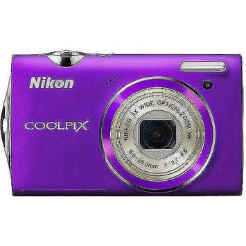 Nikon CoolPix S5100 12MP Digital Camera, 5X Optical Zoom, 3