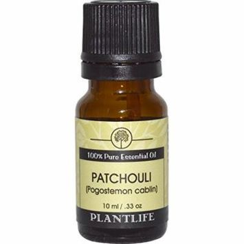 Plantlife 100% Natural 10ml Essential Oil 2 Pack - Wintergreen & Patchouli - 2 Items Bundled by Maven Gifts