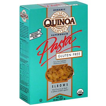 Ancient Harvest Quinoa Gluten Free Elbows Pasta, 8 oz (Pack of 12)