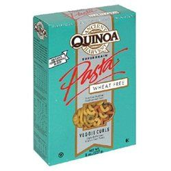 Quinoa Wheat Free Vegetable Curls 8 Oz -Pack of 12