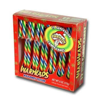 Impact Confections Warheads Candy Cane