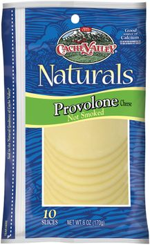 Cache Valley Naturals Provolone 10 Ct Slices Cheese