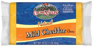 Cache Valley Natural Mild Cheddar Cheese