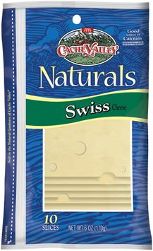 Cache Valley Naturals Swiss 10 Ct Slices Cheese