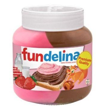 Fundelina All Natural Original Greece Hazelnut & Fruit Spreads (Chocolate Hazelnut Strawberry)