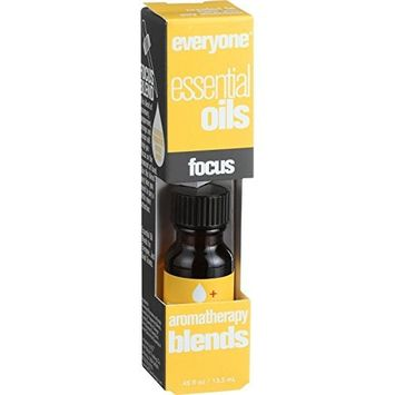 EO Products Everyone Aromatherapy Blends - Essential Oil - Focus - .5 oz