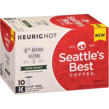 Seattle's Best Coffee™ 6th Avenue Bistro® 4 Dark Roast Ground Coffee K-Cups 10 ct Box