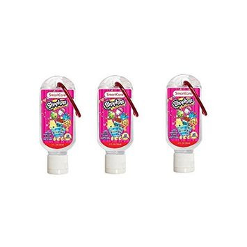 Shopkins Hand Sanitizer with Clip x 3