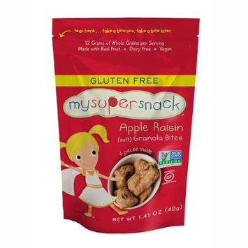 MySuperFoods Apple Raisin Granola Bites 1.41 oz Bags - Single Pack