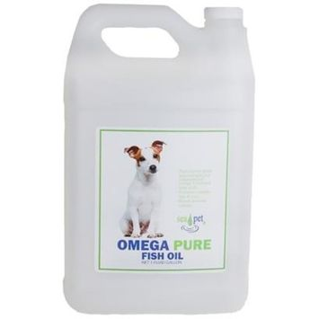 Sea Pet Omega Pure Fish Oil [Options : 1 Gallon]