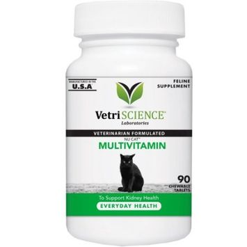 Vetri-Science Laboratories Nu Cat Multivitamin Soft Tablets