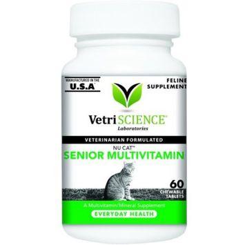 Vetri-Science Laboratories Nu Cat Senior Multivitamin Soft Tablets