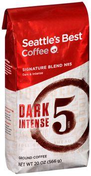 seattle's best coffee™ signature blend no 5 dark & intense ground coffee