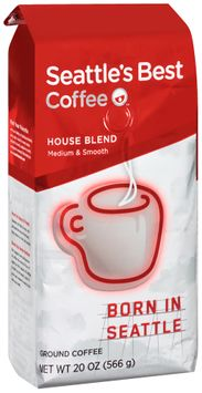 seattle's best coffee™ house blend ground coffee