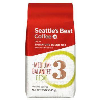 Seattle's Best Coffee Level 3 Decaf 12oz Ground