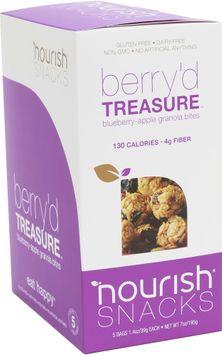 Nourish Snacks Berry'd Treasure Granola Bites-5 Each