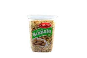 SUNBEST Almond Granola 15 Oz Container (5 Pack)