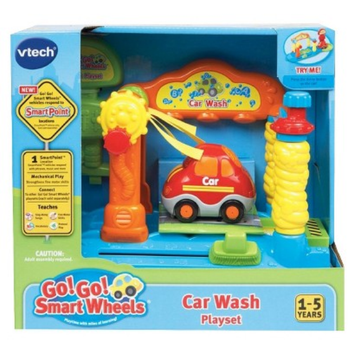 VTech Go! Go! Smart Wheels Car Washer Playset