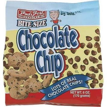 Buds Best Chocolate Chip 6 oz Bag Cookies(Case of 12)