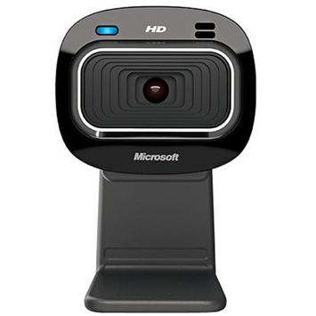 Microsoft T3H-00011 LifeCam HD-3000 Webcam - USB, 720p HD Video, 16:9 Format, Built-in Microphone, TrueColor Technology
