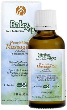 BabySpa Nourishing Massage Oil- 50 ml Stage Two - 1.7 oz, Fragrance Free