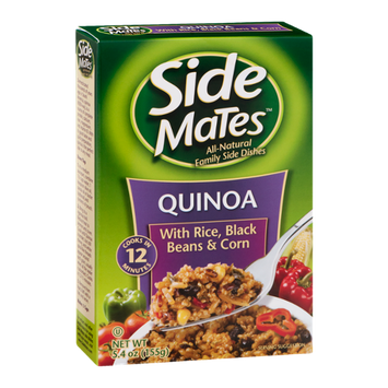 Side Mates Quinoa With Rice, Black Beans & Corn