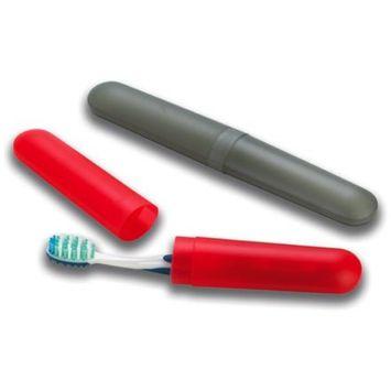 Lewis N. Clark Toothbrush Holder, Smoke