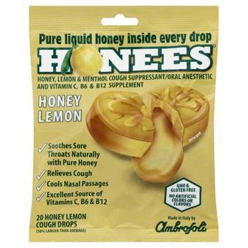 Honees Lemon Cough Drops 20 ct