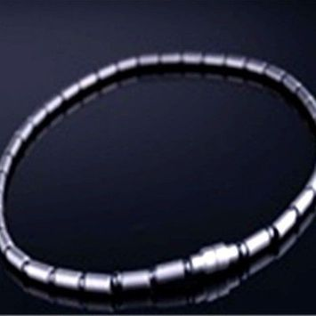 Electrified Feel Better Jewelry ELECTRIFIED FEEL BETTER EJNP-P061 Titanium Necklace with 39 Health Magnets