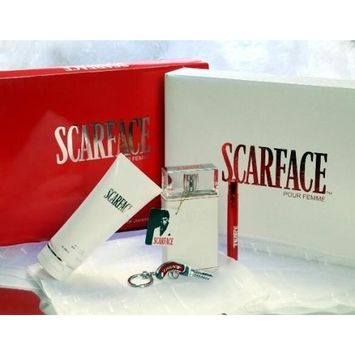 Universal Studios Scarface 3.4 oz Women edp Perfume 5 pcs Gift Set