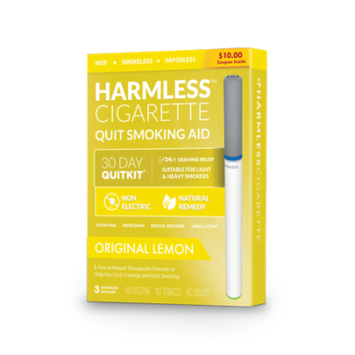 Quit Smoking Starter Kit / Full Support Guide Included / Stop Smoking Remedy To Help Quit & Reduce Cravings / Therapeutic Quit Solution (3 Pack)