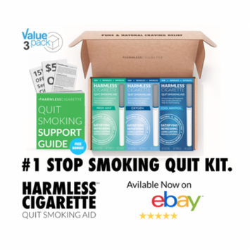 Stop Smoking Aid / 4 Week Quit Kit / Includes FREE Quit Smoking Support Guide / Harmless Cigarette.