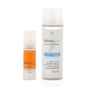 Mirai Clinical Astaxanthin Face Serum and Face Wash