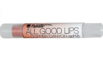 Elemental Herbs All Good Lips Tinted Lip Balm with SPF 18