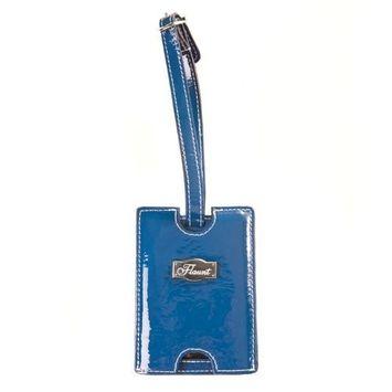 Flaunt Solid Blue Luggage Tag * Handbag New Fashion 92112(FF)