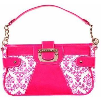 Palazzo Pink Cross Body Bag * Flaunt Handbag NWT Patent Liquid Gloss 92245