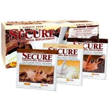Secure Soy Complete Meal Replacement - Variety Pack 30 Packets [30 Packets]