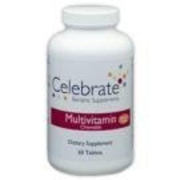 Celebrate Chewable Multivitamin - Mandarin Orange - 60 Count