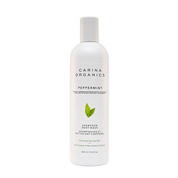 Carina Organics Peppermint Shampoo & Body Wash by Carina Organics