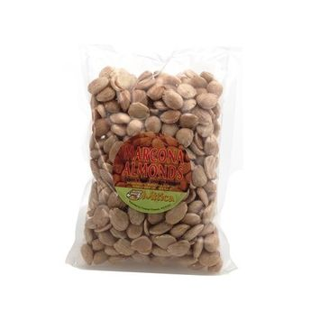 Spanish Marcona Almonds Fried and Salted, 1 lb
