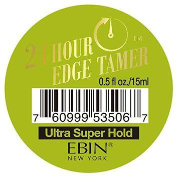 Ebin New York 24 Hour Edge Tamer Ultra Super Hold (0.5 floz)