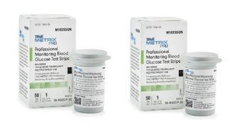 Blood Glucose Test Strips McKesson TRUE METRIX PRO 50 Test Strips Per Box - 2 Boxes (100 Count)